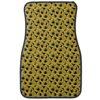 Sunflowers Car Mats