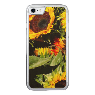 Sunflowers Carved iPhone 7 Case