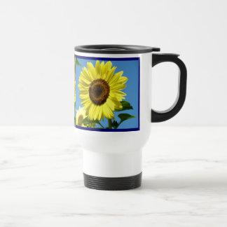 Sunflowers Coffee Mug Travel Mugs gifts Blue Sky