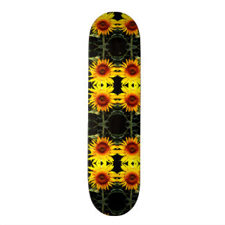 Sunflowers Custom Skate Board