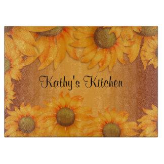 Sunflowers Cutting Board