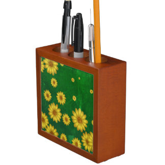 Sunflowers Desk Organizer