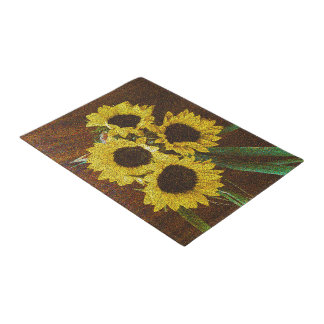 Sunflowers Doormat