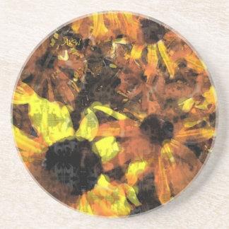 Sunflowers Drink Coaster