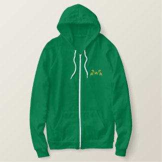 Sunflowers Embroidered Hoodie