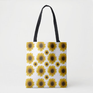 Sunflowers Everywhere Reusable Grocery Bag