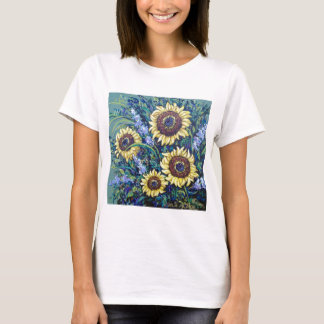sunflowers floral T-Shirt
