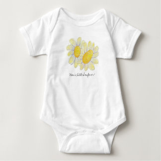 Sunflowers for baby! baby bodysuit