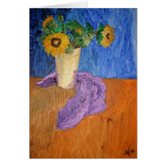 Sunflowers for Dar Card