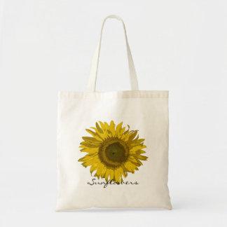 Sunflowers Gardening Tote Bag