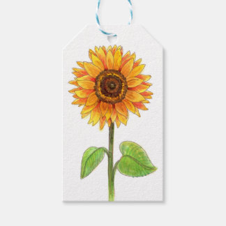Sunflowers Gift Tags