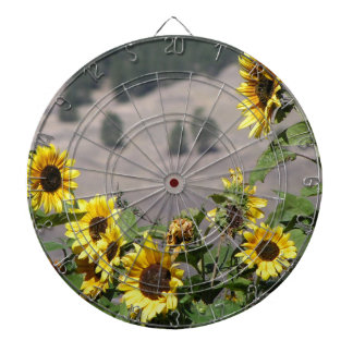 Sunflowers in the Mountains Dart Boards