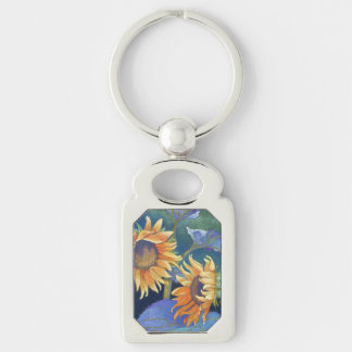 Sunflowers Key Chain
