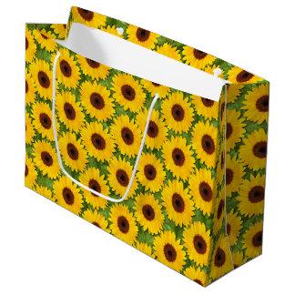 Sunflowers Large Gift Bag