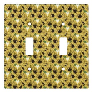 Sunflowers Light Outlet Face Cover