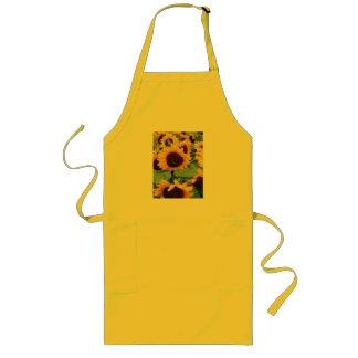 Sunflowers Long Apron