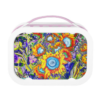 Sunflowers Lunch Box