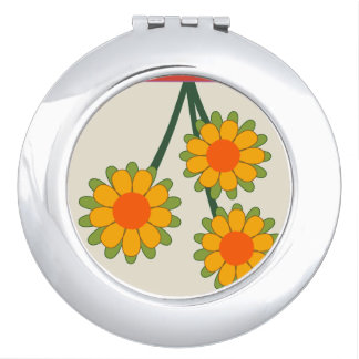 Sunflowers Makeup Mirror