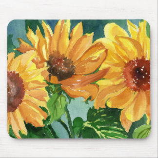 Sunflowers Mousepads