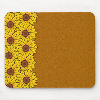 Sunflowers mousepad, customize mouse pad