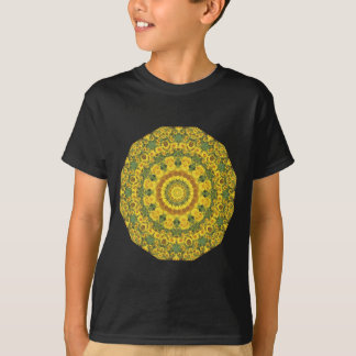 Sunflowers Nature, Flower-Mandala (Blumen-Mandala) T-Shirt