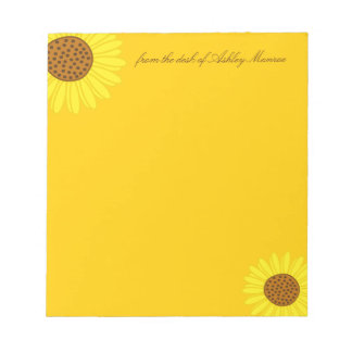 Sunflowers Notepads