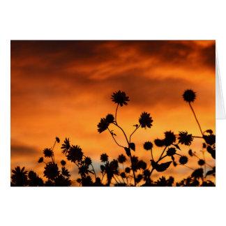 Sunflowers of the Apocalypse Card