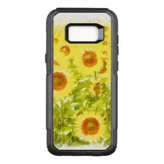 sunflowers OtterBox commuter samsung galaxy s8+ case