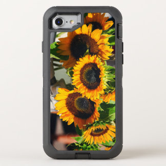 SunFlowers OtterBox Defender iPhone 8/7 Case
