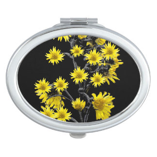 Sunflowers over Black Mirror For Makeup
