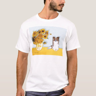 Sunflowers - Papillon 6 T-Shirt