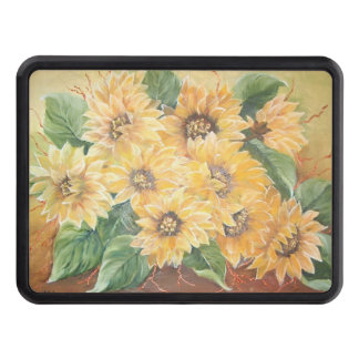 Sunflowers Tow Hitch Covers