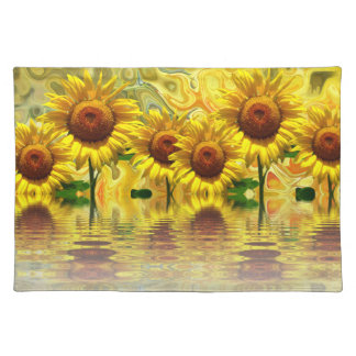 Sunflowers Placemat