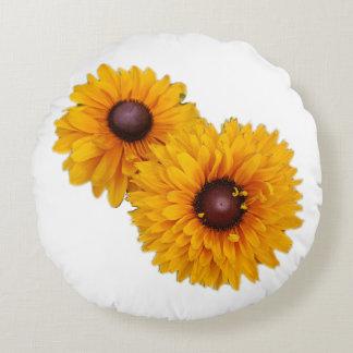 Sunflowers Round Pillow