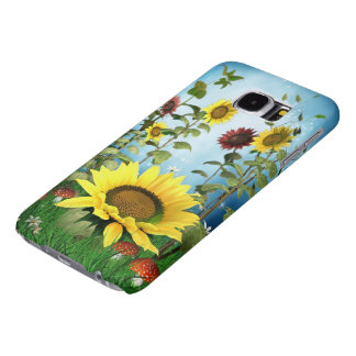 Sunflowers Samsung Galaxy S6 Cases