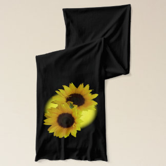 Sunflowers Scarf Sunny Flowers Scarves Gifts