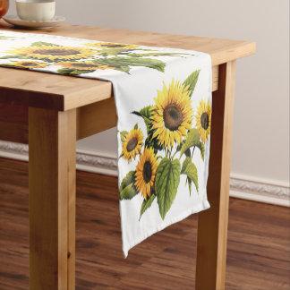 Sunflowers Short Table Runner