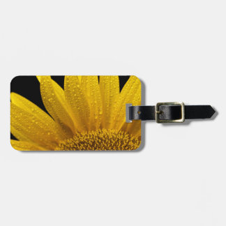 Sunflowers soaking up the sun. luggage tag