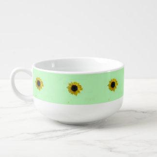 Sunflowers Soup Mug