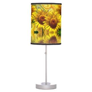 Sunflowers Table Lamp