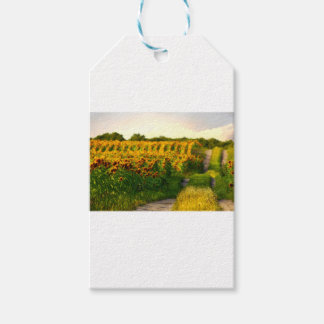 Sunflowers to Brighten your day Gift Tags