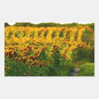 Sunflowers to Brighten your day Sticker