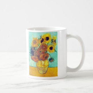 Sunflowers, Van Gogh Coffee Mug
