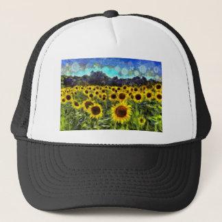 Sunflowers Van Goth Trucker Hat