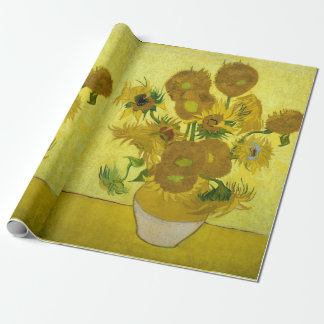 Sunflowers, Vincent van Gogh Wrapping Paper