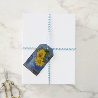 Sunflowers Wedding Thank You Guest Favor Gift Tags