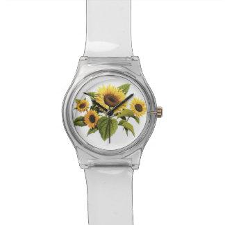 Sunflowers Wristwatch