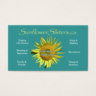 SunflowerSisters.ca Business Card