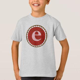 Sunflowery Flair Red- E T-Shirt