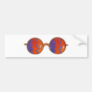 Sunglass Eyes 2 Bumper Stickers